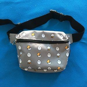 Sanrio Gudetama Gray Grey Fanny Pack Bag